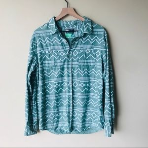 Modern Amusement Aztec button down